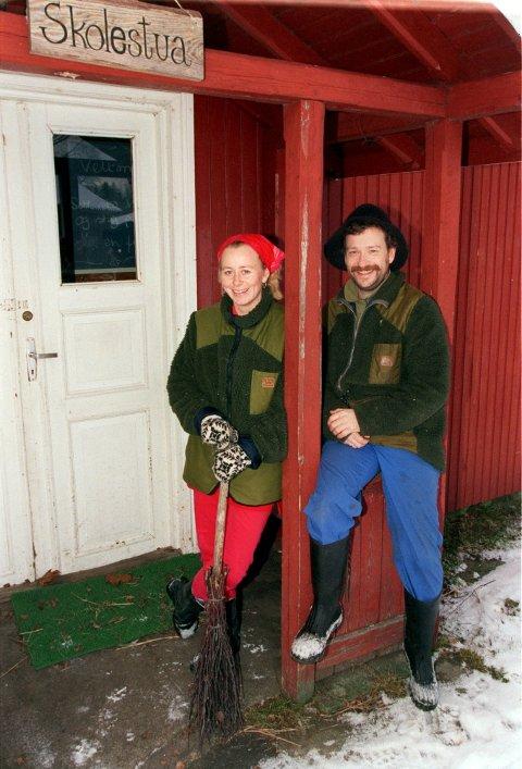TILBAKE: Hedda og Egil Kortnes er minst like glade for å eie Bøensætre som de var for å bli vertskap i 2000.Arkivbilde.