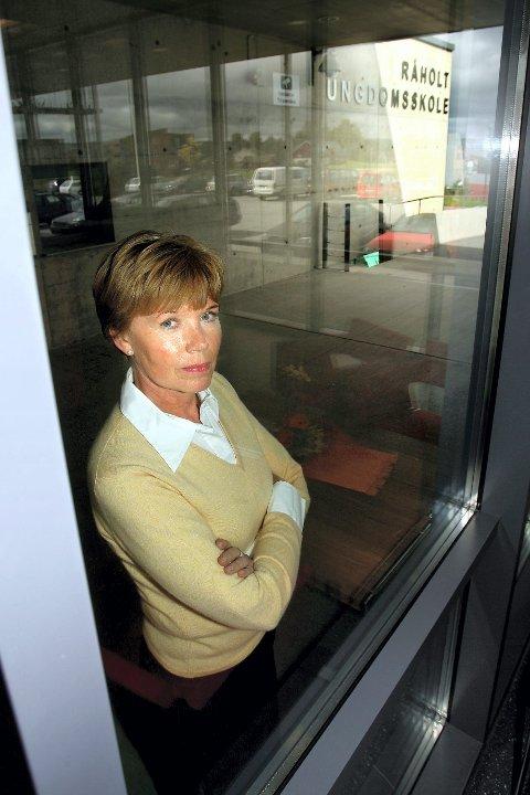 FORTSETTER KAMPEN: Råholt-rektor Marte Hoel.FOTO: KAY STENSHJEMMET