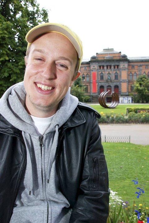 A-lagets Vågard Unstad sier det beste Hulen-minnet hans er fra den gangen noen publikummere angivelig ble jult opp etter å ha kastet øl på scenen. (Arkivfoto)