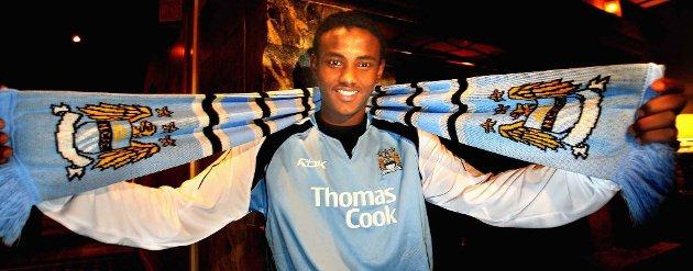 Abdisalam Ibrahim skrev under for Manchester City i 2007.