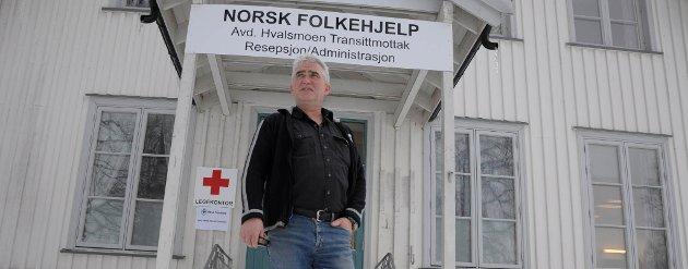 Lederen av mottaket frykter for de reelle asylsøkerne som bor på mottaket.
