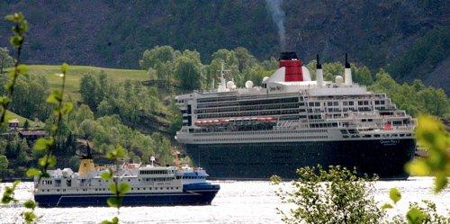 FLEIRE: 137 cruiseanløp er meldt inn til Flåm i sommar. Det er ni fleire enn i fjor.