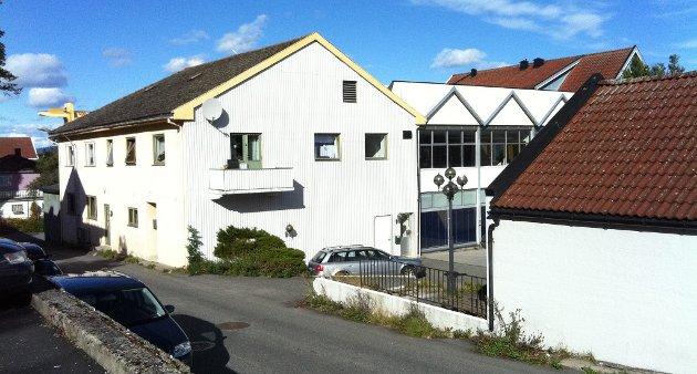 ØNSKE: Her i Lagunekvartalet ønsker Rema 1000 å etablere butikk.