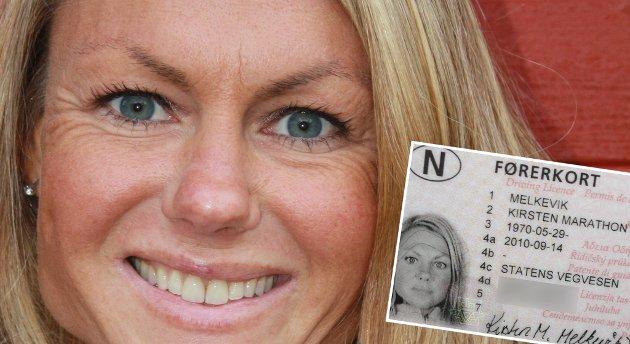 Kirsten Marathon Melkevik har fått nytt mellomnavn.