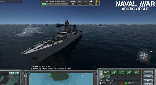 Naval War er et spill laget i Bergen.