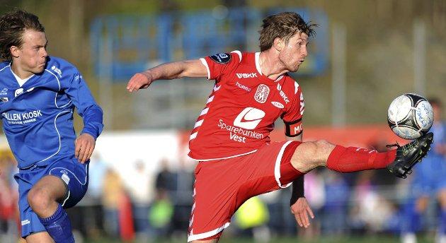 Erik Mjelde scoret to mot Bjarg da Brann gikk videre til cupens andre runde. (Arkivfoto)