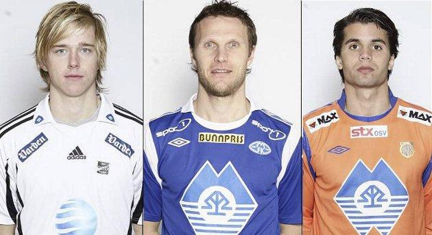 Snorre Krogsgård, Daniel Berg Hestad og Lars Fuhre (bildet) er sammen med  Ernest Asante og Daniel Moen Hansen med i kampen om å ha scoret rundens fineste mål.