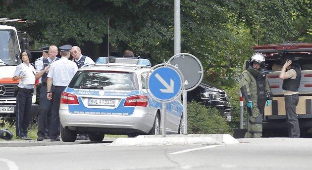 Fire personer ble drept i en gisselsituasjon i Karlsruhe onsdag.