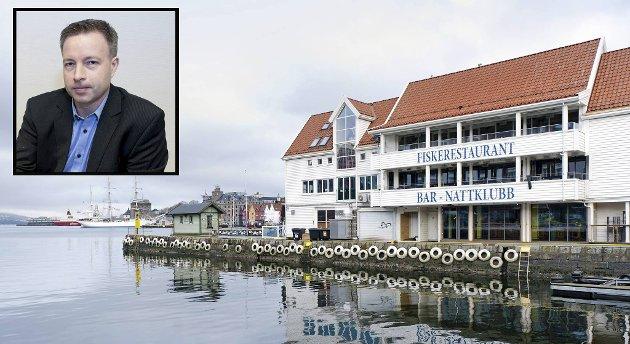 Hovedeier Knut Jørgen Hauge fikk onsdag dommen som slår Zachariasbryggen AS konkurs.
