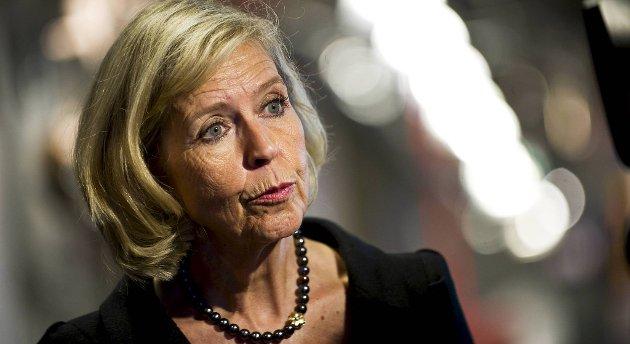 Anne-Grete Strøm-Erichsen kan få ny jobb fredag.