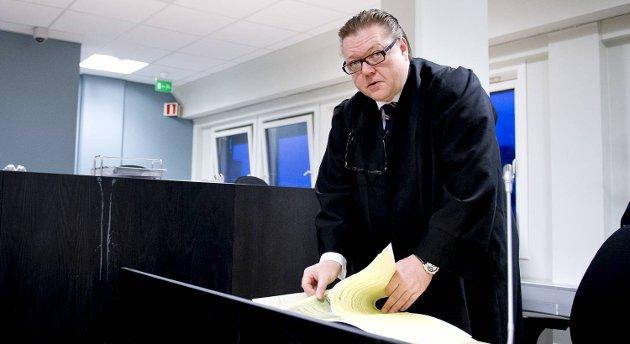 19-åringens forsvarer Knut Harald Braathen har som ventet anket forvaringsdommen. (Arkivfoto)