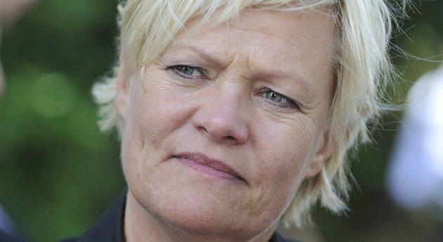 Kunnskapsminister Kristin Halvorsen (SV). Arkivbilde.