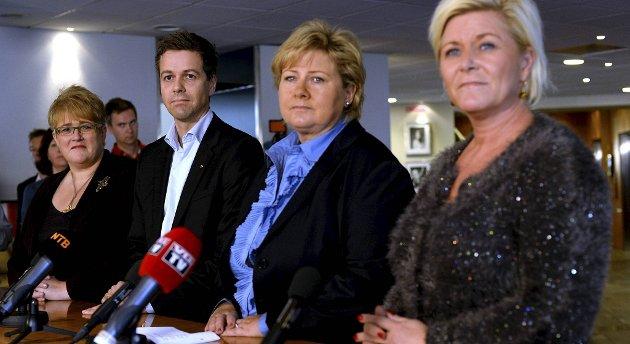 De fire partilederne skal ha kommet til enighet.