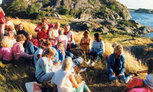«Sjørøverfest på Citadellet» en gang på 80-tallet