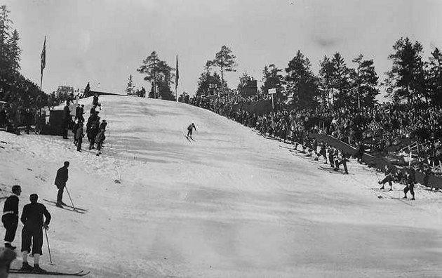 Hopprennet i Oslo 1930.