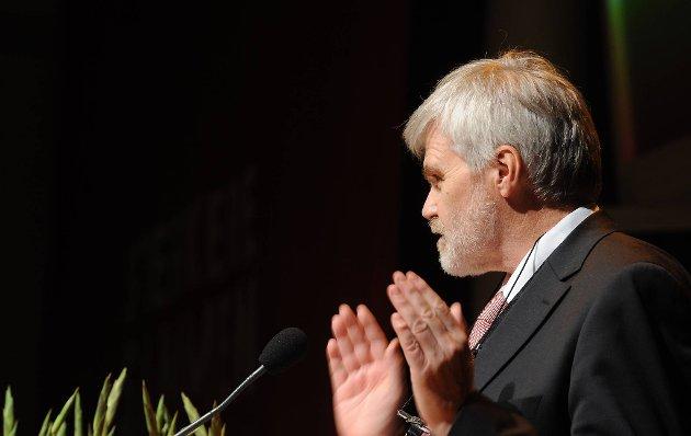 Forbundsleder Leif Sande i Industri Energi er fornøyd med at partene ble enige.