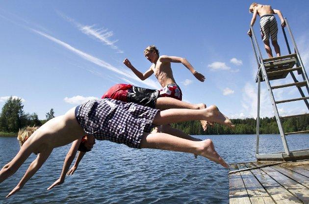 NORDBYKJERNET: Venner, sol og varme er det viktigste ifølge ungdommer Zoom har snakket med.