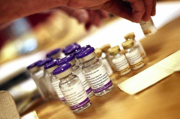 Ti nye tilfeller av narkolepsi etter å ha vaksinert seg mot svineinfluensa skal være registrert.
