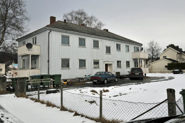 RIVES: er skal stjørdal kommune rive og bygge ti nye boliger.