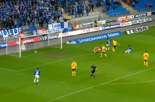 3-2: Molde går opp i ledelsen like før slutt.