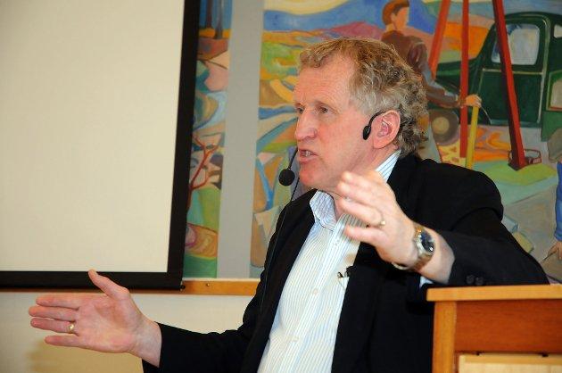 SIER NEI: Regionveisjef Torbjørn Naimak.
