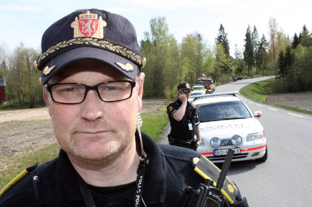 INNSATSLEDER: Ronny Samuelsen i Follo politidistrikt. FOTO: BREDE HØGSETH WARDRUM