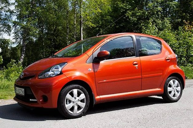 Aygo er først og fremst en billig bil.