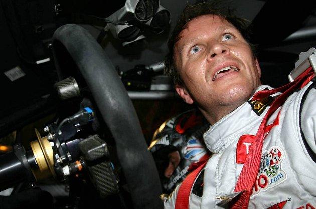 Petter Solberg hadde tredje beste tid i kvalifiseringen i Rally New Zealand torsdag.