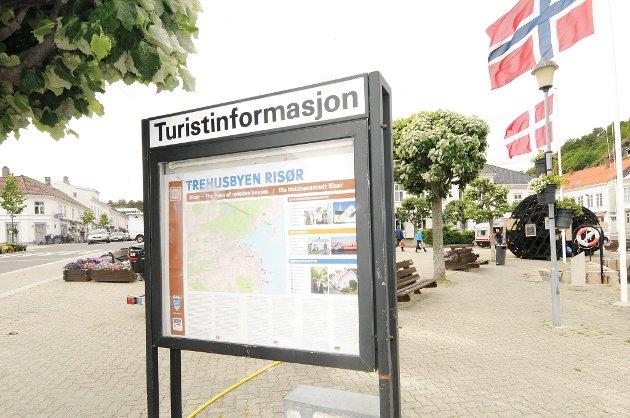 To store informasjonstavler om Trehusbyen Risør er denne uken blitt satt opp. En på Torvet og en på Tjenna.