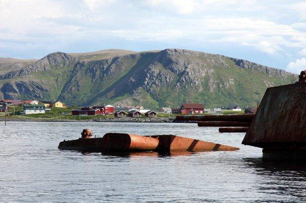 17 granater ble onsdag funnet i skipsvraket Murmansk, som er under opphogging utenfor Sørvær på Sørøya i Finnmark.