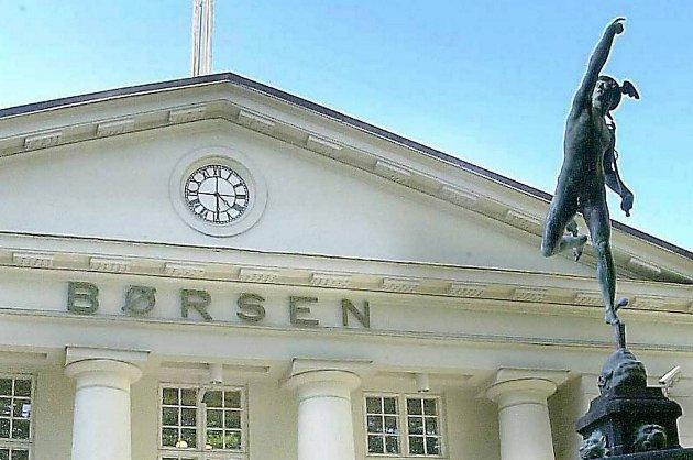 Oslo Børs hadde i dag sterk oppgang.