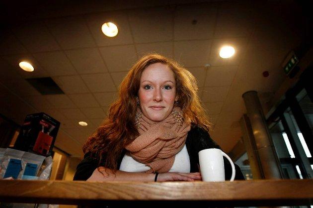 Elin L'Estrange er leder i Akershus AUF.