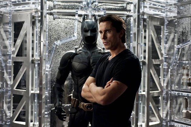 «The Dark Knight Rises» får norgespremiere 25. juli. Christian Bale spiller Batman.