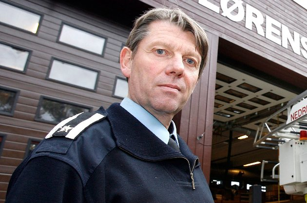 FATTET MISTANKE: Brannispektør Tore Bjareng i brannvesenet.