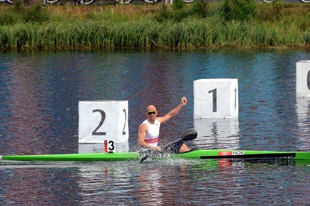Eirik Verås Larsen tok gull.