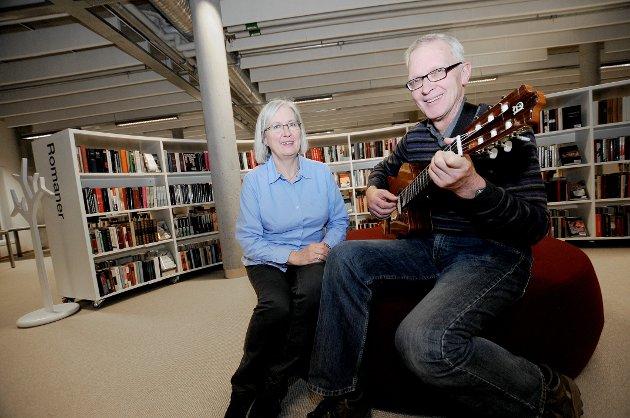 Eli Gullien og Arne Næss på Tangenten.
