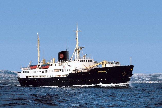 22. mars legger ærverdige Nordstjernen til kai i Bergen for aller siste gang som hurtigruteskip.