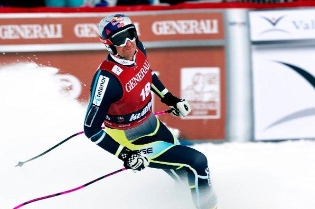 Aksel Lund Svindal fikk det ikke til i Kranjska Gora.