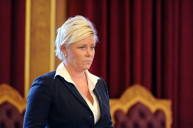 Frp-leder Siv Jensen.
