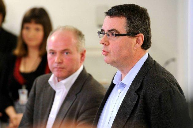 Agnar Aspaas (t.h.) måtte, sammen med kollega Terje Tørrissen, utarbeide en tilleggserklæring til sin rapport om Anders Behring Breivik.