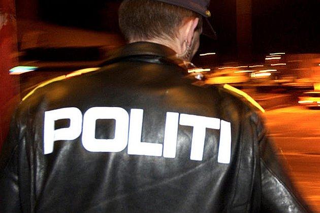 Politiet målte farten i 70-sonen.