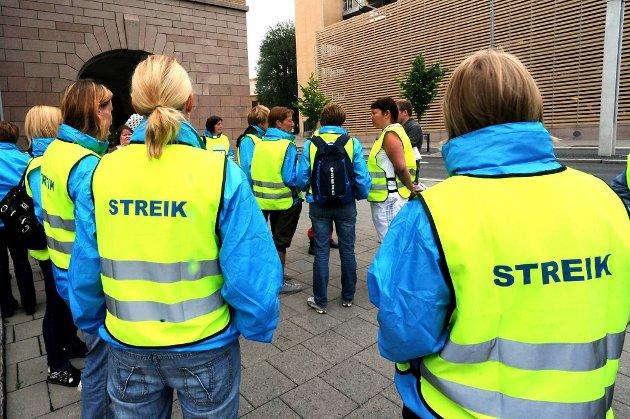 Streiken i kommunene fortsetter.