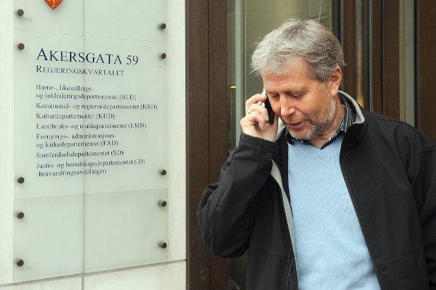 Arne Johannesen og UNIO avsluttet torsdag streiken.