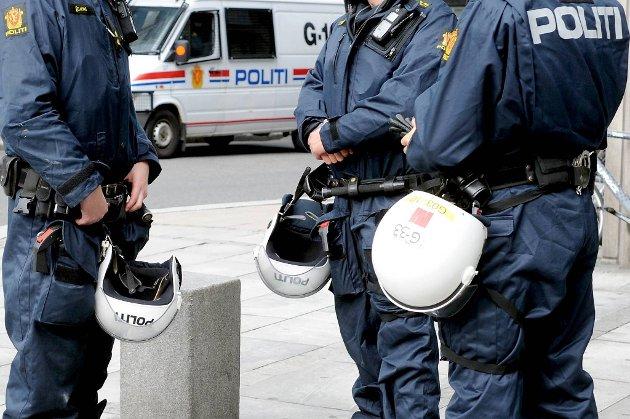 Høyere aldersgrense kan gi lønnsløft til politiet. Illustrasjonsfoto.
