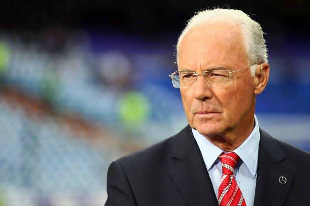Franz Beckenbauer er misfornøyd, for å si det mildt.