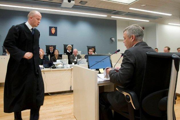 Karl Heinrik Melle forklarte seg i rettssaken mot Anders Behring Breivik onsdag.