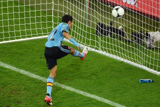Jesus Navas hamrer inn kampens eneste mål og sender Kroatia ut av EM.