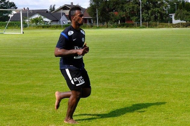 Man kan neppe påstå at Sandnes Ulf har truffet blink da de inviterte ivorianeren Franck Madou på prøvespill.