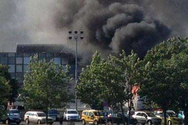 Eksplosjonen i Burgas var svært kraftig.