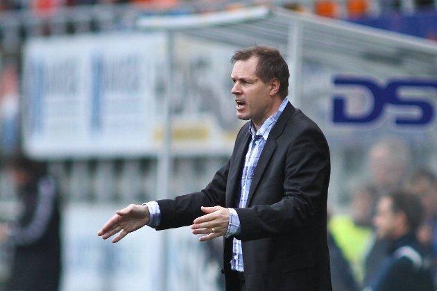 Kjetil Rekdal kan være fornøyd med Aalesunds innsats mot Tirana.